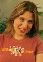 Zsuzsa, siempre sonriente